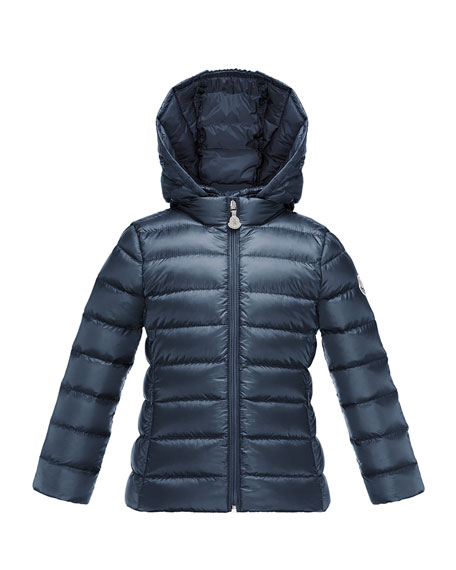Iraida Hooded Lightweight Down Puffer Jacket, Size 8-14