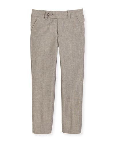 Slim Suit Pants  Light Gray  Size 2-14