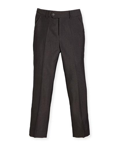 Slim Suit Pants  Charcoal  Size 4-14