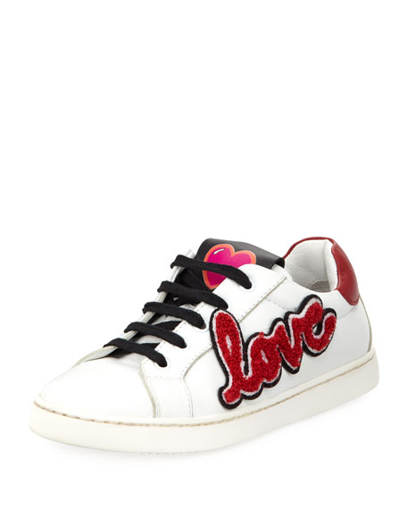 Dolce & Gabbana Heart Love Sneakers, Toddler and