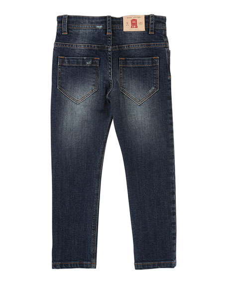 Little Marc Jacobs Cool Effects Denim Trousers, Size 6-10