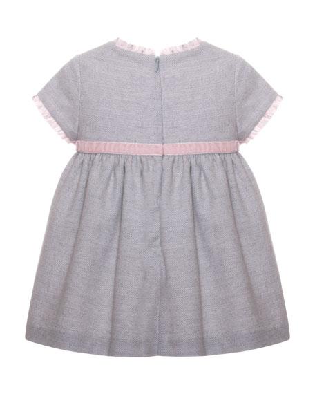 Ruffle Bow Dress, Size 3-24 Months