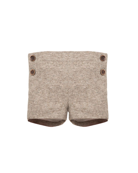 Pili Carrera Boys' Tweed Shorts, Size 12M-3T