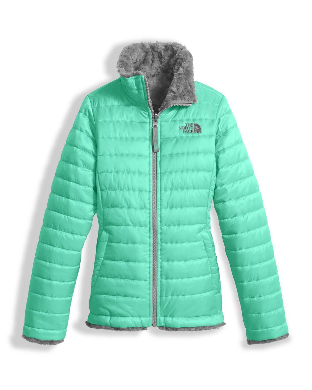 b93f8acc8 Girls' Reversible Mossbud Swirl Jacket, Size XXS-XL