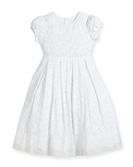 Image 1 of 2: Isabel Garreton Gala Organdy Lace Dress, Size 2-3