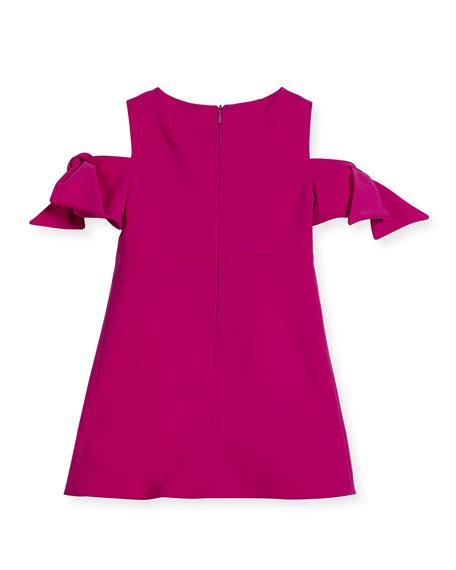 Milly Minis Berry Cady Mod Tie Mini Dress, Size 4-7