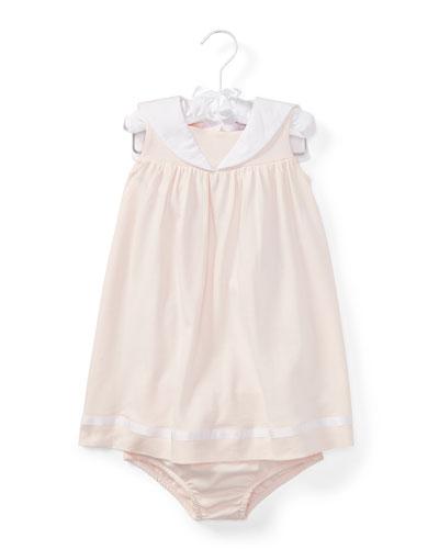 Sleeveless Sailor Dress w/ Bloomers, Size 6-24
