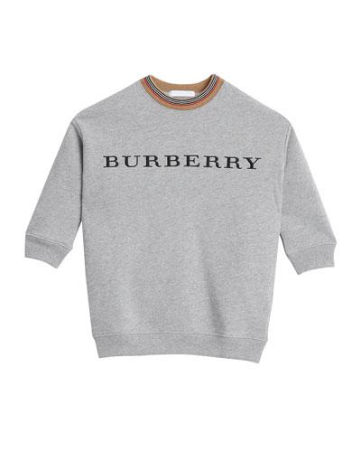 Glenda Long-Sleeve Sweater Dress, Size 4