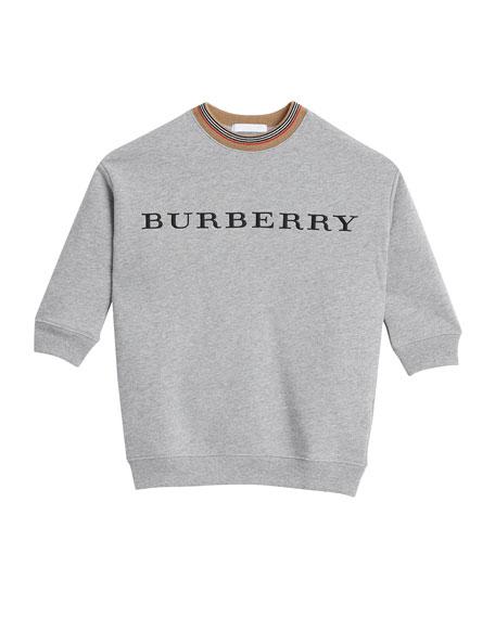 Burberry Glenda Long-Sleeve Sweater Dress, Size 4