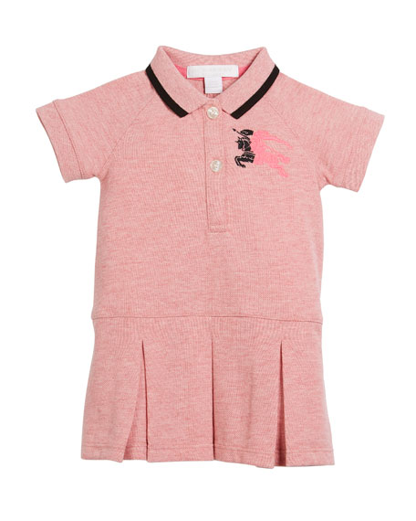 Mini Molly Anna Logo Polo Dress, Size 6M-3