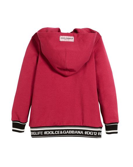 Queen Fleece Cotton Hoodie Dress, Size 4-6