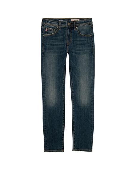 Boys' Stryker AG-ed Slim Straight Denim Jeans, Size 8-16