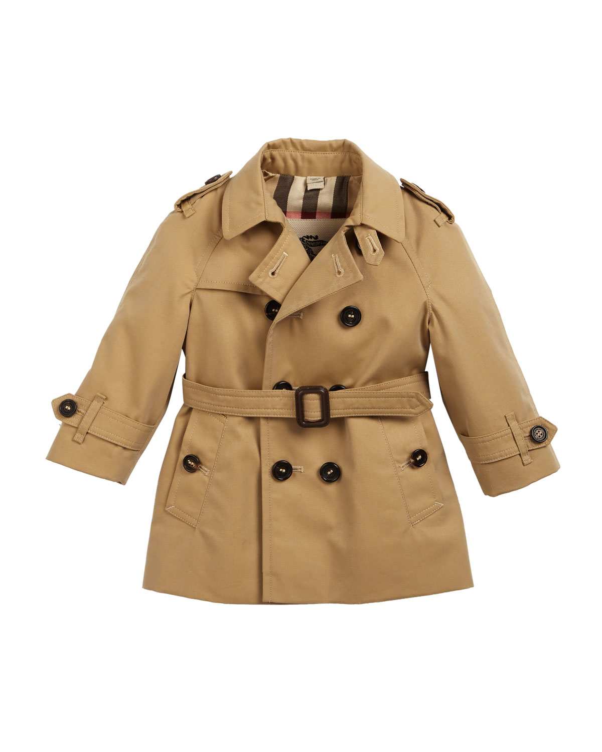 Burberry Wiltshire Trench Coat, Size 6M-3