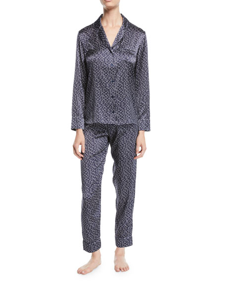 Stella McCartney Ellie Leaping Long Pajama Set