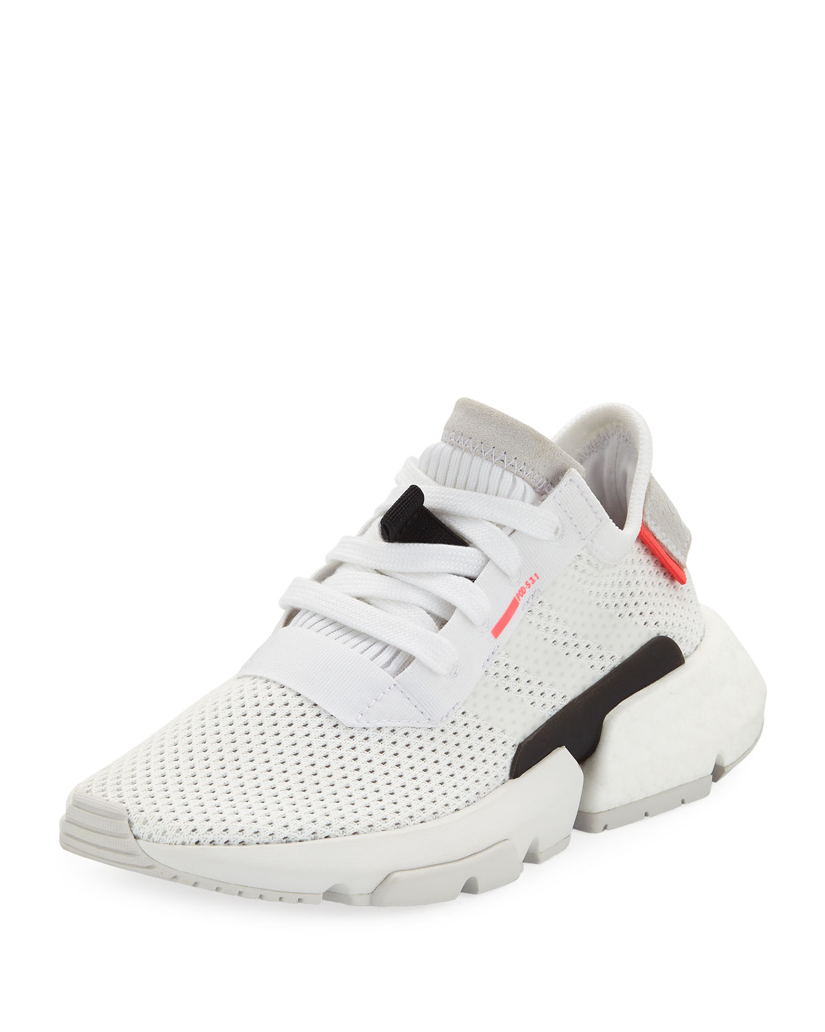 8b0c0bab5ab0 Adidas POD-S3.1 Knit Lace-Up Trainer Sneakers