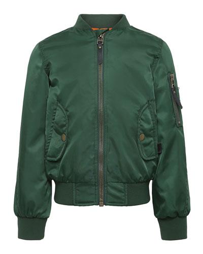 Hiker Nylon Bomber Jacket  Size 4-12
