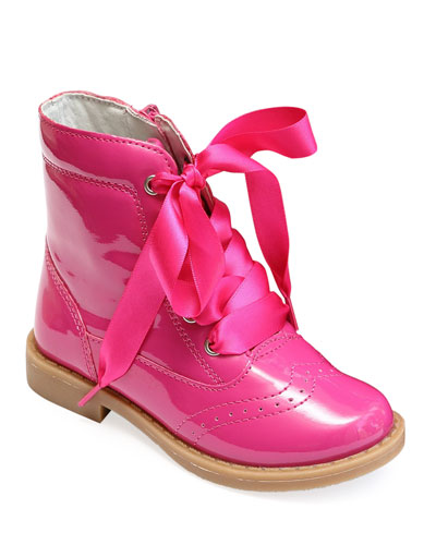 Stella Patent Leather Mid-Top Boot  Baby/Toddler/Kids
