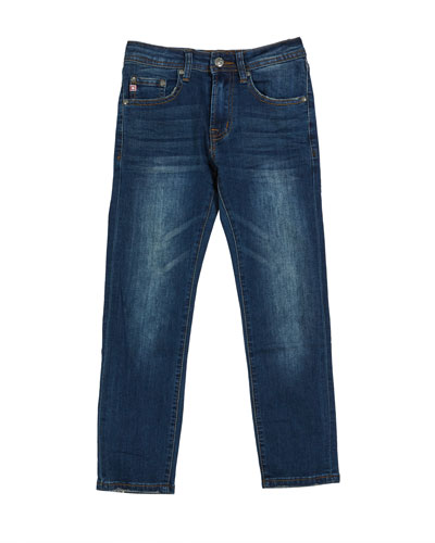 Boys' Stryker AG-ed Slim Straight Denim Jeans  Size 8-16