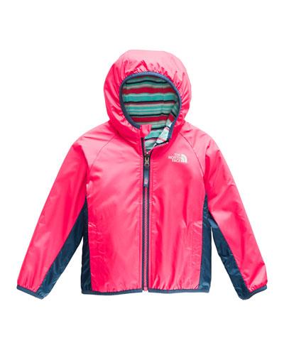 Reversible Hooded Jacket  Size 2-4T