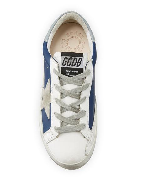 Golden Goose Superstar Leather & Suede Low-Top Sneakers, Toddler/Kids