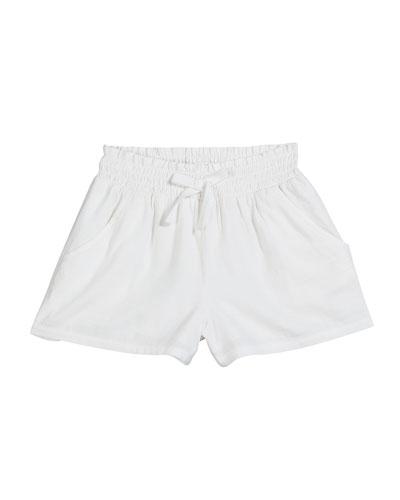 Woven Rib Shorts  Size 7-14