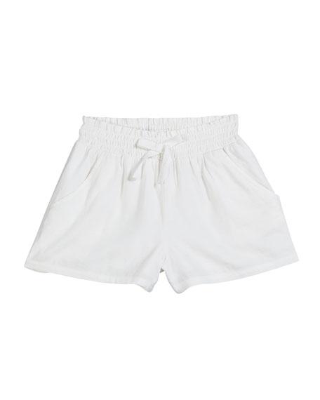 Splendid Woven Rib Shorts, Size 7-14