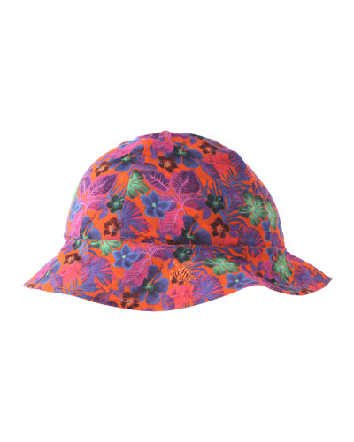 Girls' Bobine Printed Sun Hat