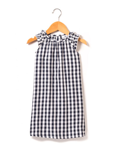 Amelie Gingham Nightgown  Size 6M-14