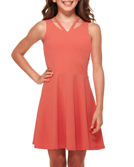 Sally Miller The Georgia Techno Crepe Dress, Size S-XL