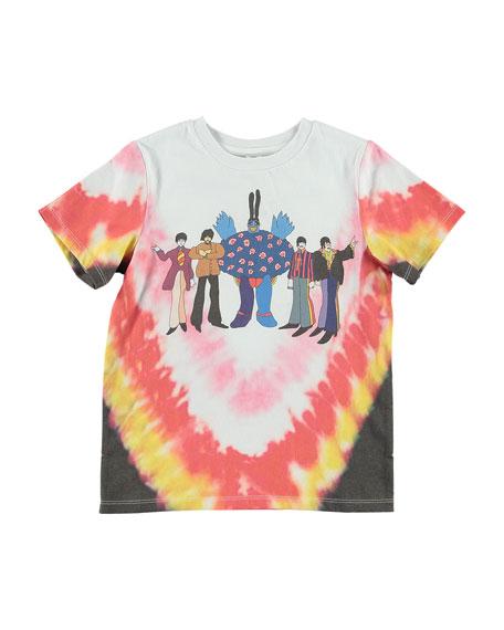 Stella McCartney Kid's Tie Dye Beatles Tee, Size 4-14