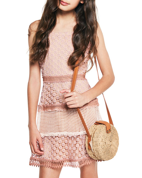 Image 2 of 3: Bardot Junior Kristen Multi Lace Dress, Size 8-16
