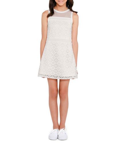 The Liz Lace Sleeveless Dress  Size S-XL