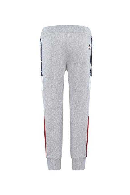 Moncler Boy's Logo Tape Sweatpants, Size 4-6