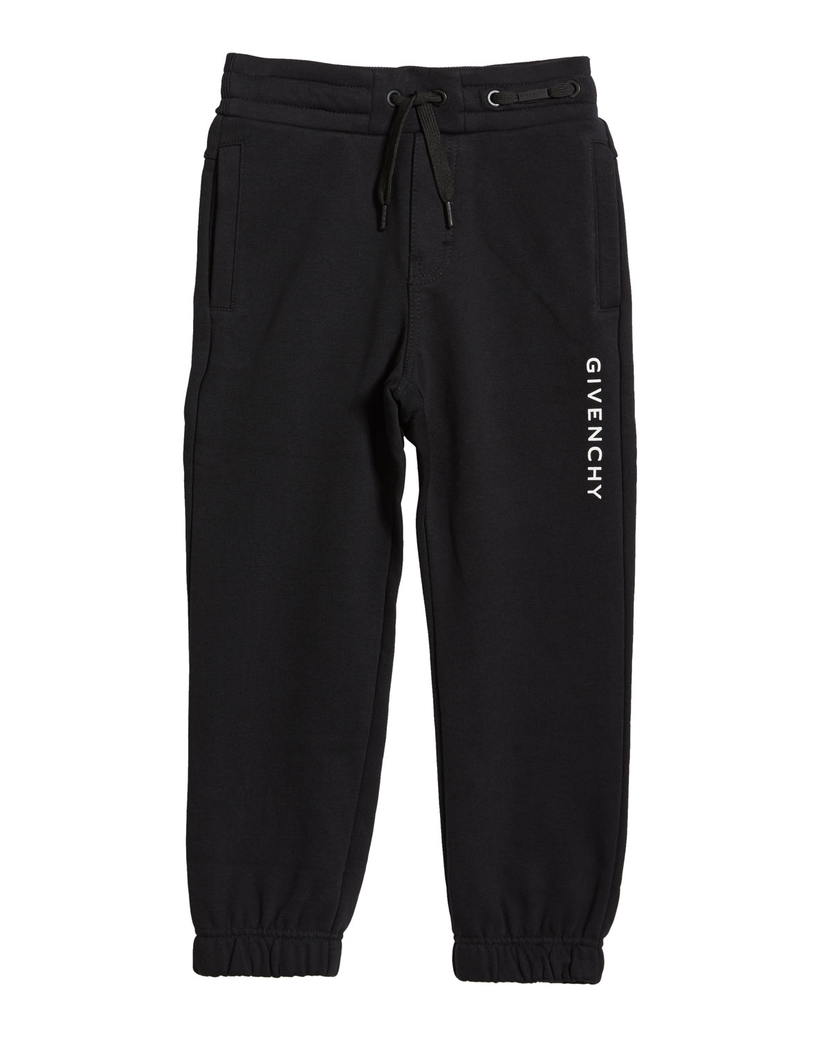 Givenchy Boy's Logo Mini Me Sweatpants, Size 6-10