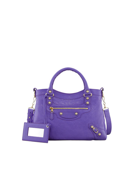 Giant 12 Golden Town Bag, Mauve