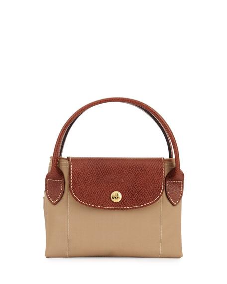Le Pliage Small Handbag, Beige