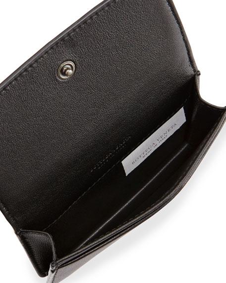 Intrecciato Napa Flap Card Case