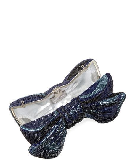 Crystal Bow Clutch Bag
