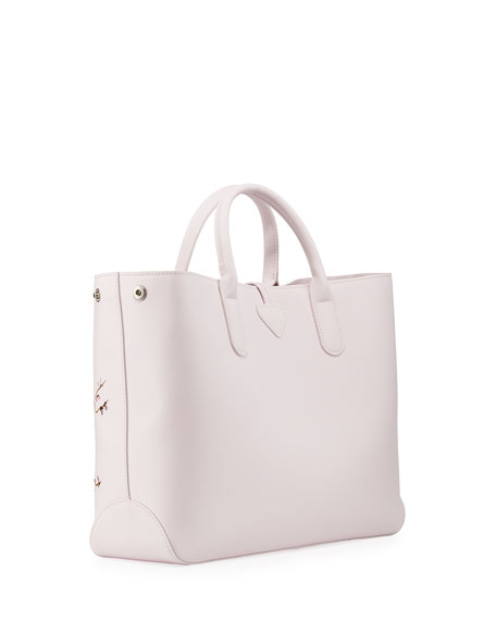 Roseau Sakura Floral Medium Tote Bag