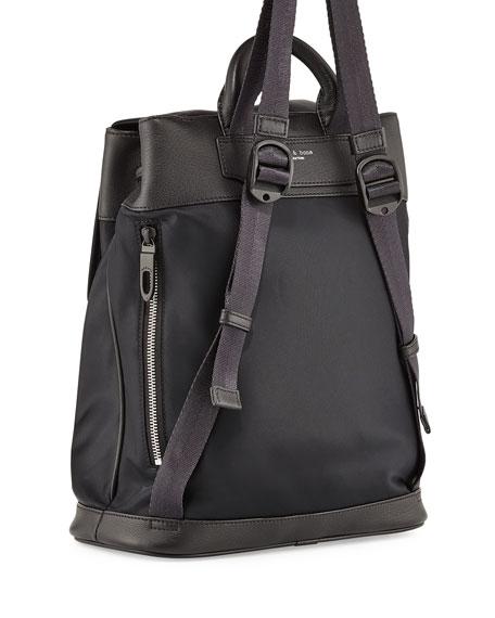 Black Nylon Leather Trim 16