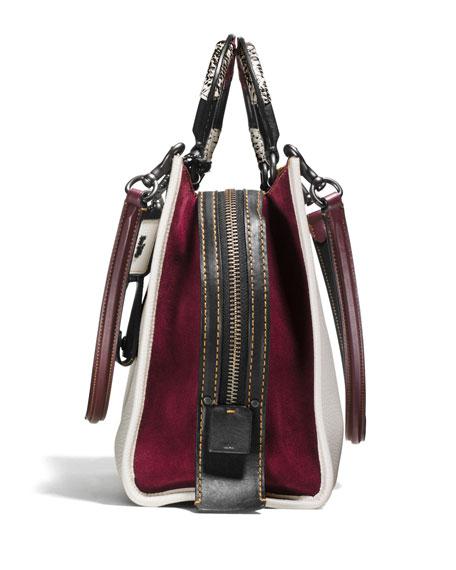Rogue Patchwork-Handle Tote Bag