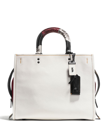 Coach 1941 Rogue Patchwork-Handle Tote Bag