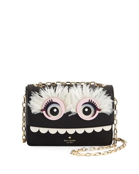 imagination toothy monster shoulder bag, multi