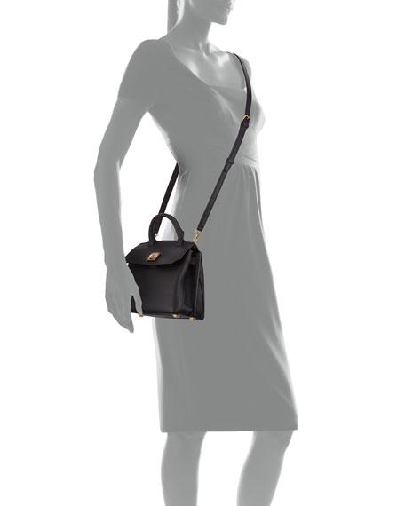 Milla Leather Crossbody Tote Bag