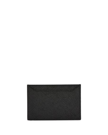 Saffiano Greca Flat Card Case