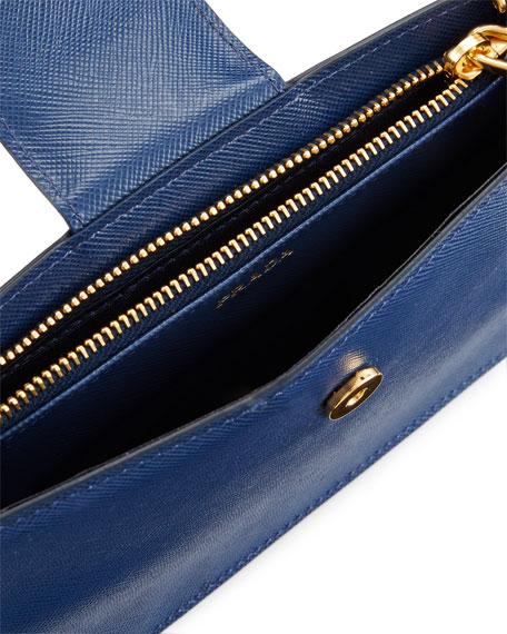 Saffiano Phone Crossbody Bag