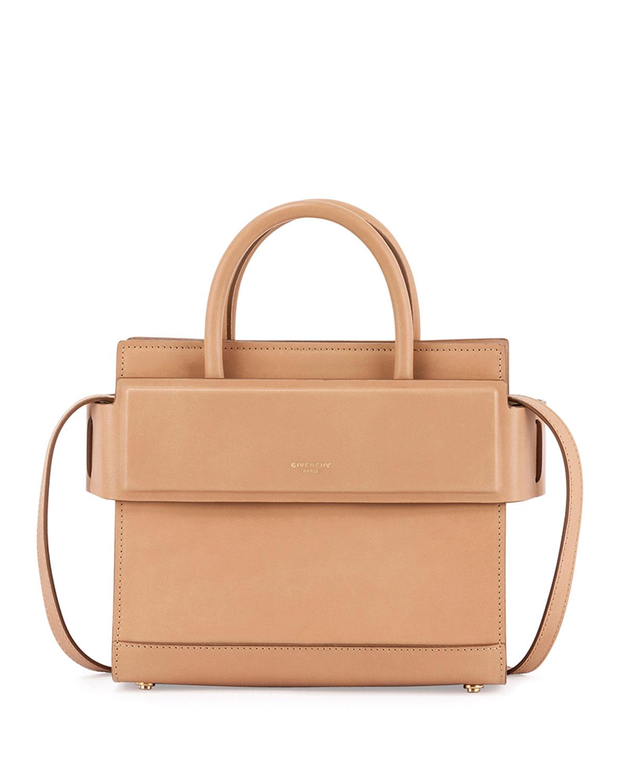 8722dbebb7 Givenchy Horizon Mini Leather Satchel Bag