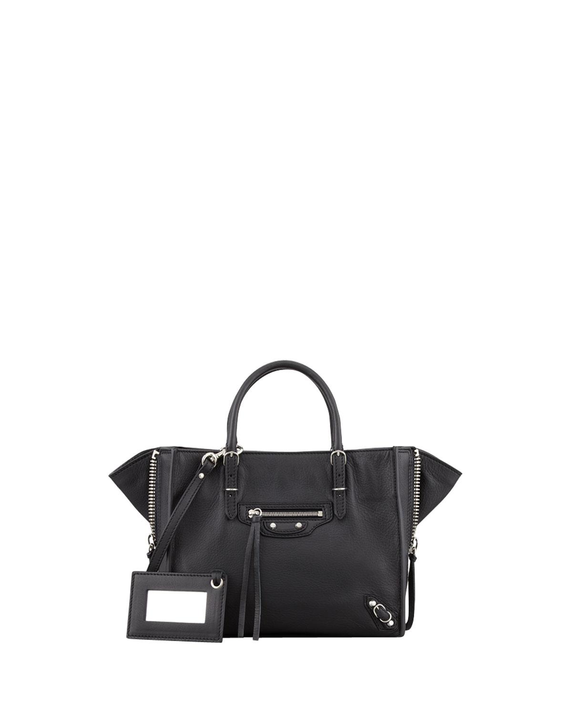 2a296e9f080d Balenciaga Papier A4 Mini Leather Tote Bag