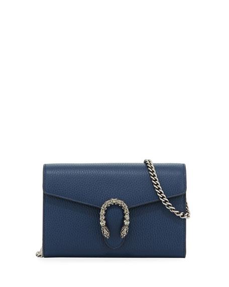 Gucci Bags Dionysus Leather Mini Chain Bag