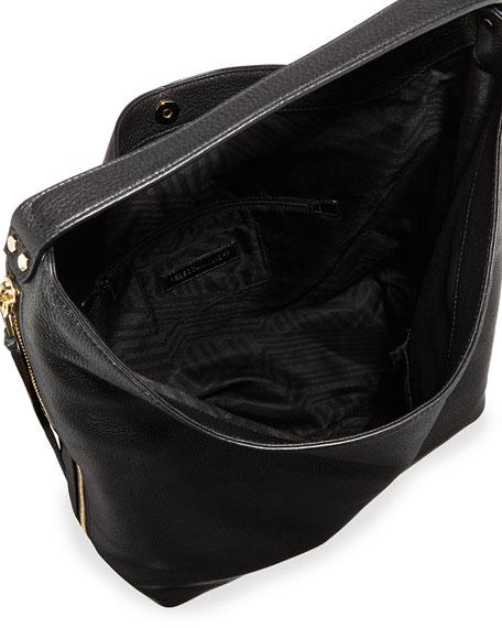 Bryn Leather Hobo Bag